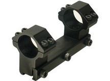UTG Leapers Accushot 1-Pc Mount w/1 inch Rings, High, 11mm Dovetail