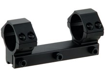 UTG Leapers Accushot 1-Pc Mount w/1 inch Rings, 3/8 inch Dovetail