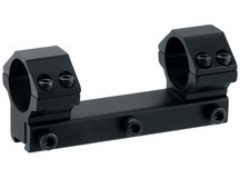 UTG Leapers Accushot 1-Pc Mount w/30mm Rings, Medium, 3/8 inch Dovetail
