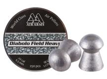 Air Arms Diabolo Field Heavy .22 Cal, 5.52mm, 18 Grains, Round Nose, 250ct