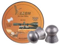 Air Arms Falcon .177 Cal, 4.52mm, 7.33 Grains, Domed, 500ct