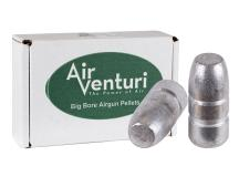 Air Venturi .45 Cal, 411 Grains, Flat Point, 50ct