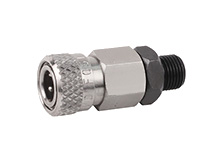 Air Venturi Foster Female Quick-Disconnect to 1/8 inch BSPP Male, 5000 PSI