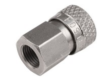 Air Venturi Foster Quick Disconnect Female to 1/8 inch BSPP Female, 5000 psi Rating