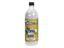Air Venturi Pro CQBBs 6mm biodegradable airsoft BBs, 0.20g, 5000 rds, white