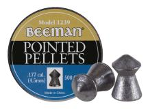 Beeman .177 Cal, 8.53 Grains, Pointed, 500ct