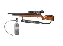 Benjamin Marauder Wood Hunter Combo Air rifle