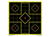 Birchwood Casey Shoot-N-C Sight-In Targets, 8 inch Square, 6ct