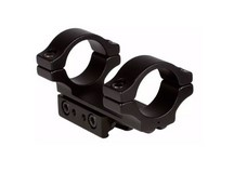 BKL 1-Pc Mount, 1 inch Rings, 3/8 inch or 11mm Dovetail, 3 inch Long, Matte Black