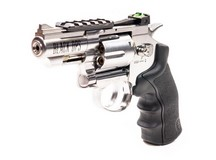 Black Ops Exterminator Metal .177 Revolver, Chrome Air gun
