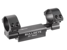 Diana Bullseye ZR 1-Pc Mount, Fits 1 inch and 30mm tubes, 11mm Dovetail, 0.04 inch Droop Compensation, Recoil Compensation