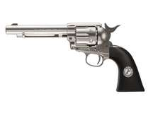 Colt SAA CO2 Pellet Revolver, Nickel Air gun