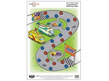 Birchwood Casey Pregame Checkered Flag Target, 12 inchx18 inch, 8ct