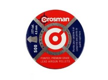 Crosman Field Hunting .177 Cal, 7.4 Grains, Pointed, 500ct