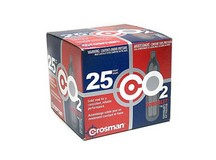 Crosman 12 Gram CO2, 25 Cartridges