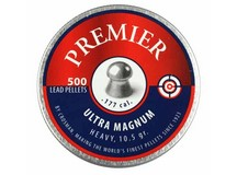 Crosman Premier Ultra Magnum .177 Cal, 10.5 Grains, Round Nose, 500ct