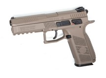 CZ P-09 Duty CO2 Pistol, FDE Air gun