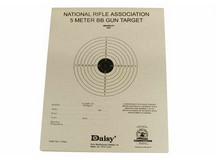 Daisy Official NRA 5-Meter BB Gun Targets, 6.75 inchx5.38 inch, 50ct