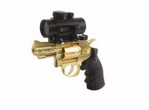 Dan Wesson 2.5 inch CO2 BB Revolver, Gold Kodiak Combo Air gun