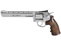 Dan Wesson CO2 BB Revolver, Silver, 8 inch Air gun