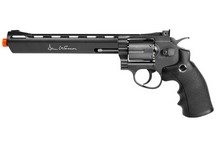 Dan Wesson 8 inch CO2 Airsoft Revolver, Grey Airsoft gun