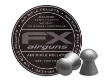 FX Airguns FX Air Rifle Pellets .22 Cal, 15.89 Grains, Domed, 500ct., 5.52mm