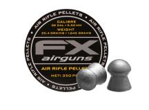 FX Airguns FX Air Rifle Pellets .22 Cal, 25.39 Grains, Domed, 350ct.