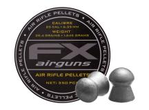 FX Airguns FX Air Rifle Pellets .25 Cal, 25.39 Grains, Domed, 350ct.