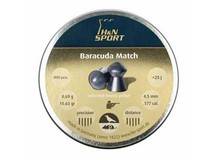 Haendler & Natermann H&N Baracuda Match .177 Cal, 10.65 Grains, Round Nose, 400ct