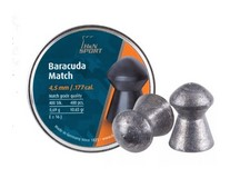 Haendler & Natermann H&N Baracuda match, .177 Cal, 10.65 Grains, Round Nose, 400ct