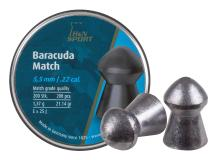 Haendler & Natermann H&N Baracuda Match .22 Cal, 21.14 Grains, Round Nose, 200ct