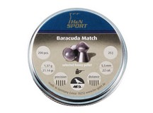 Haendler & Natermann H&N Baracuda Match, .22 Cal (5.52mm), 21.14 Grains, Round Nose, 200ct