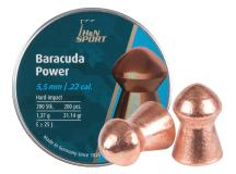 Haendler & Natermann H&N Baracuda Power, .22 Cal, 21.14 Grains, Round Nose, 200ct