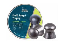 Haendler & Natermann H&N Field Target Trophy .25 Cal, 20.06 Grains, Domed, 200ct