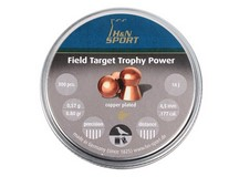 Haendler & Natermann H&N Field Target Trophy Power Copper-Plated, .177 Cal, 8.80 Grains, Round Nose, 300ct