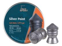 Haendler & Natermann H&N Silver Point .177 Cal, 11.57 Grains, Pointed, 500ct