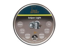 Haendler & Natermann H&N Sniper Light Pellets, .22  Cal, 14 Grains, Domed, 250ct