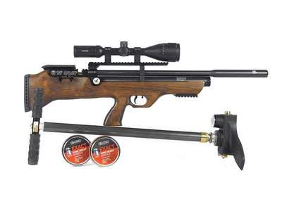 Hatsan FlashPup QE Essentials Combo Air rifle