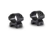 Hawke Sport Optics Hawke 1 inch Rings, Weaver, Low, Black