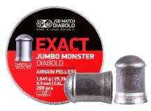 JSB Match Diabolo Exact Jumbo Monster .22 Cal, 25.39 Grains, Domed, 200ct