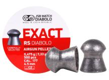 JSB Match Diabolo Exact RS .177 Cal, 7.33 Grains, Domed, 500ct