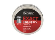 JSB Diabolo Exact King, .25 Cal, 33.95 Grains, Domed, 300ct