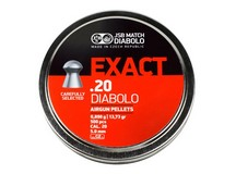 JSB Diabolo Exact .20 Cal, 13.73 Grains, Domed, 500ct