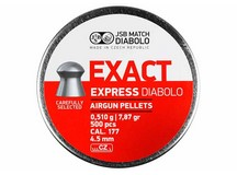 JSB Match Exact Express Diabolo, .177 Cal, 7.87 Grains, Domed, 500ct