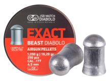 JSB Exact Beast Diabolo .177 Cal Pellets, 16.20 Grains, Domed, 250ct