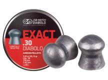 JSB Diabolo Exact Pellets, .30 Cal, 50.15 Grains, Domed, 150ct