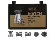 JSB Match Premium Light, .177 Cal, 7.33 Grains, Wadcutter, 200ct