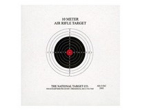 National Target Company National Target Single Bull Red Center Air Rifle Target