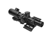 AGD NC Star Evolution Series 1.1-4X24 Scope With Spr Mount Combo