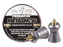 Predator International Predator Metalmag Pellets, .22 Cal, 17 Grains, Pointed, 200ct